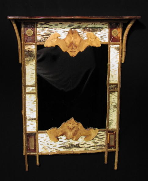 Custom Picture Frames and Mirrors Gallery - antique wood and ...