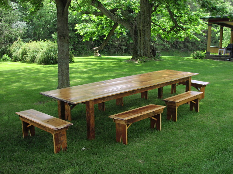 Custom Harvest Table Gallery Antique And Recycled Woods - 12 foot picnic table