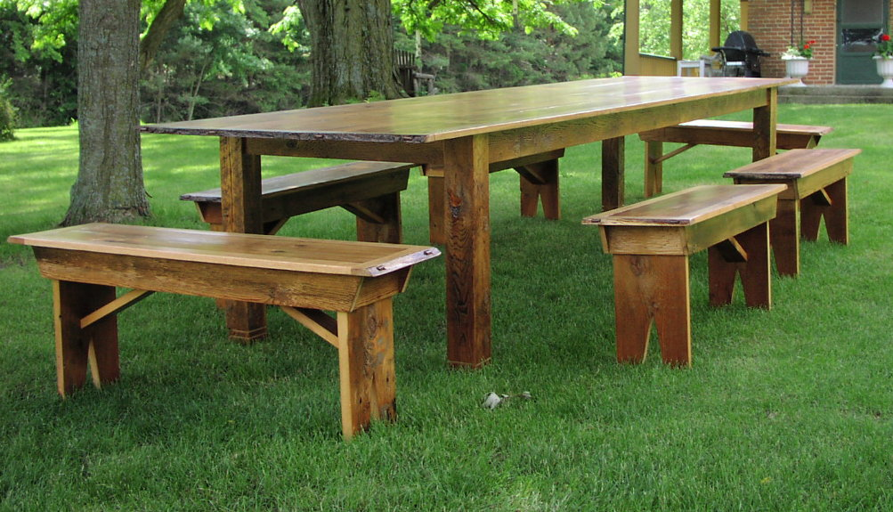 Delicieux ... Custom Harvest Table   12 Foot Antique Pine, Oak, Black Ash