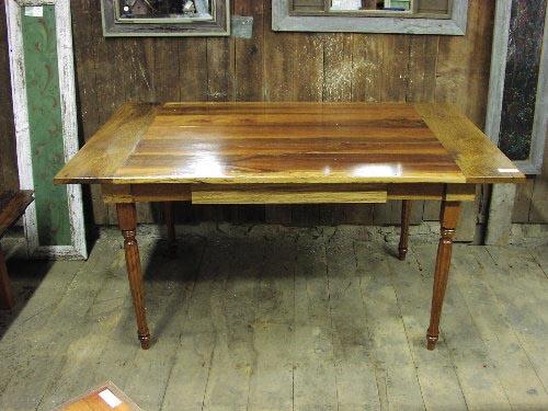 Custom Harvest Table   Reclaimed Wood Of Cherry ...