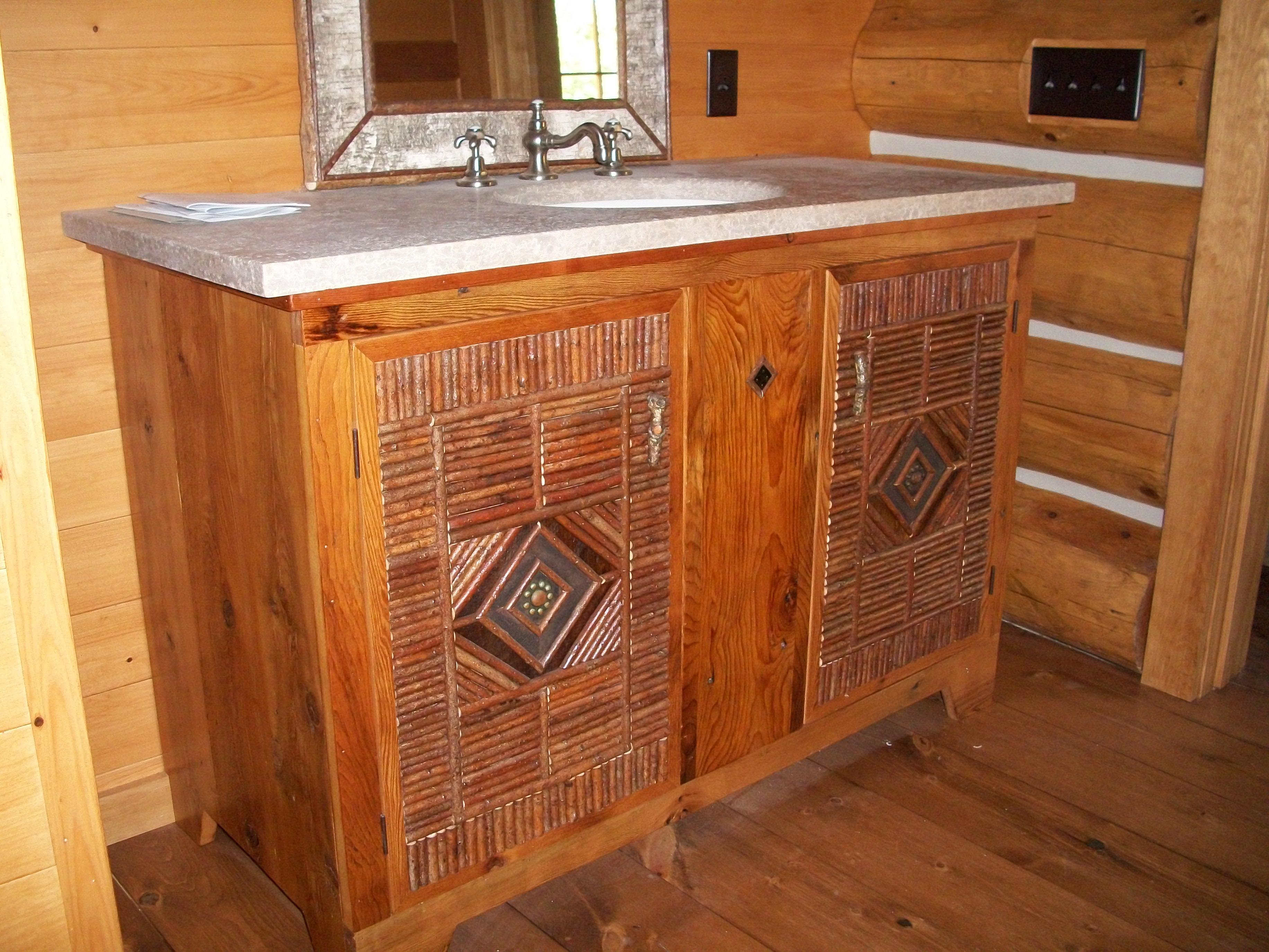 Vanities U0026 Cabinets   Twig Mosaic Vanity